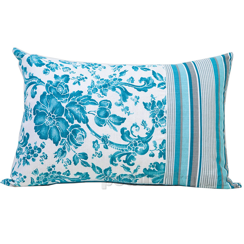 Подушка декоративная прямоугольная Прованс Allure blue 50275
