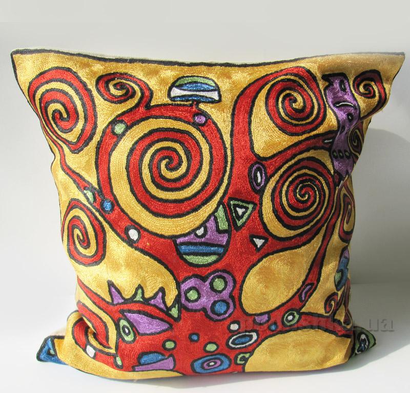 Подушка декоративная ручной работы Сказочное дерево