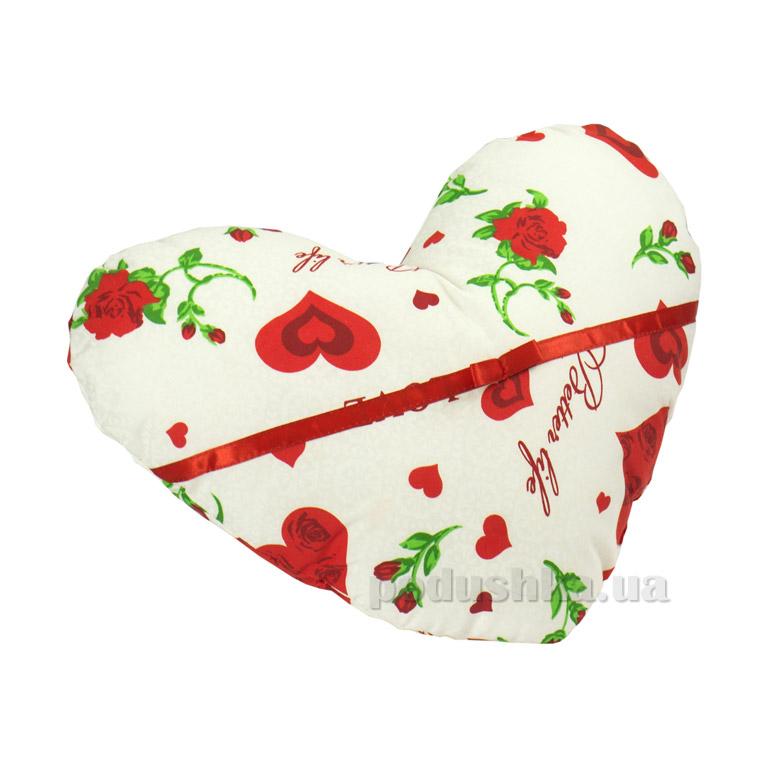 Подушка декоративная Руно Валентинка