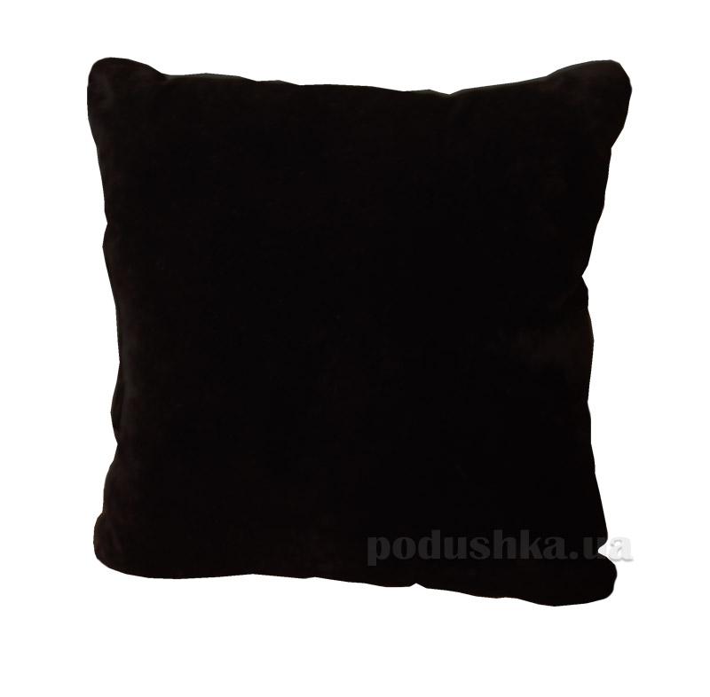 Подушка декоративная Slivki черная