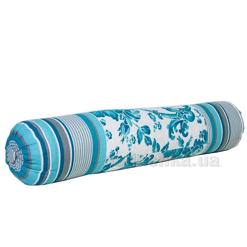 Подушка декоративная валик Прованс Allure blue 50273