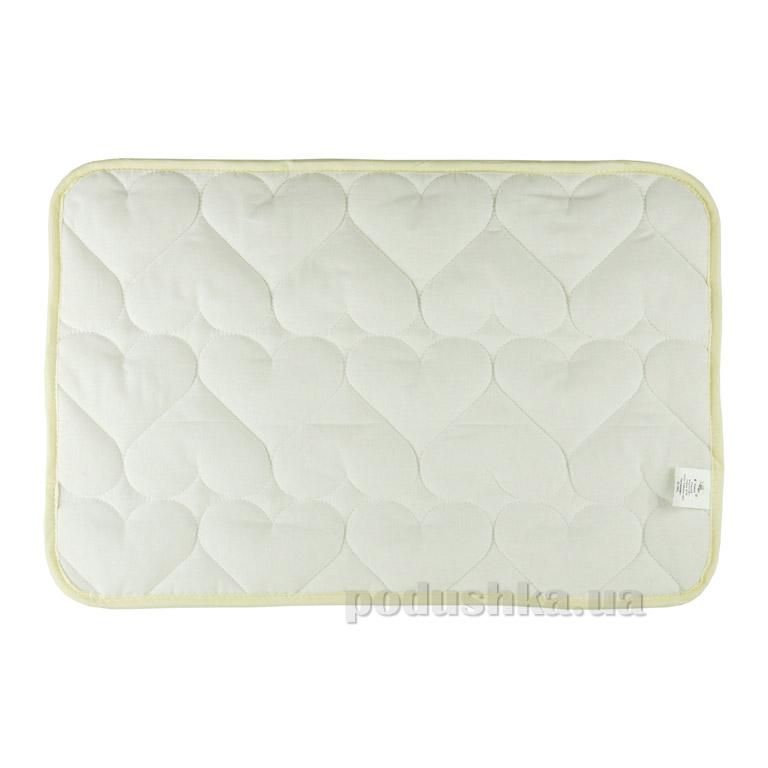 Подушка детская антиаллергенная Руно Серденько 40х60 см  Руно