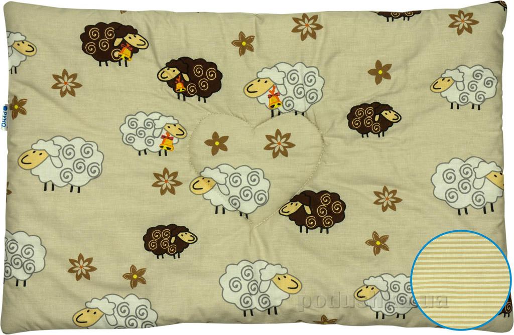 Подушка детская шерстяная Руно 931 Барашка