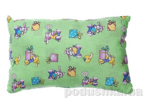 Подушка детская силиконовая Home Line зелёная