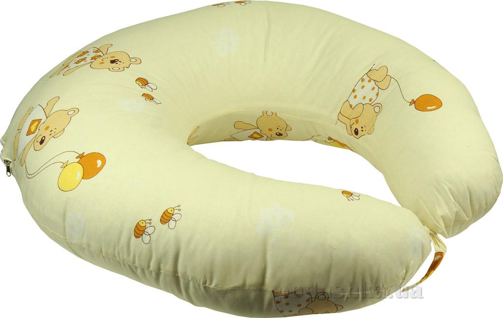Подушка для кормления с наволочкой Руно бежевая