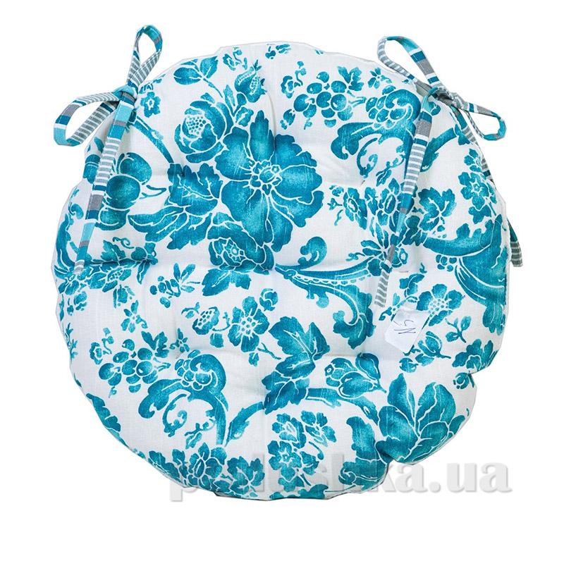 Подушка для стула круглая Прованс Allure blue 50277