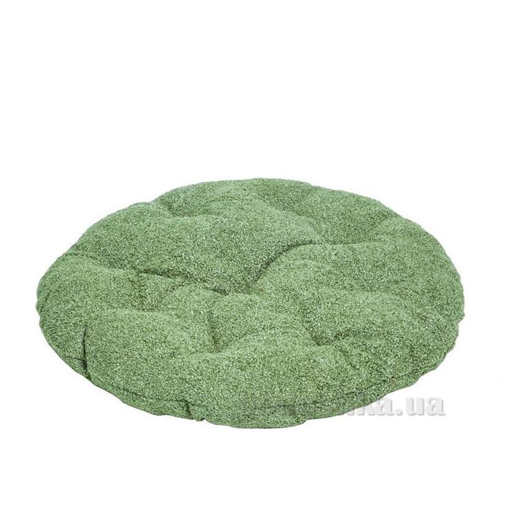 Подушка для стула круглая Прованс Астра олива