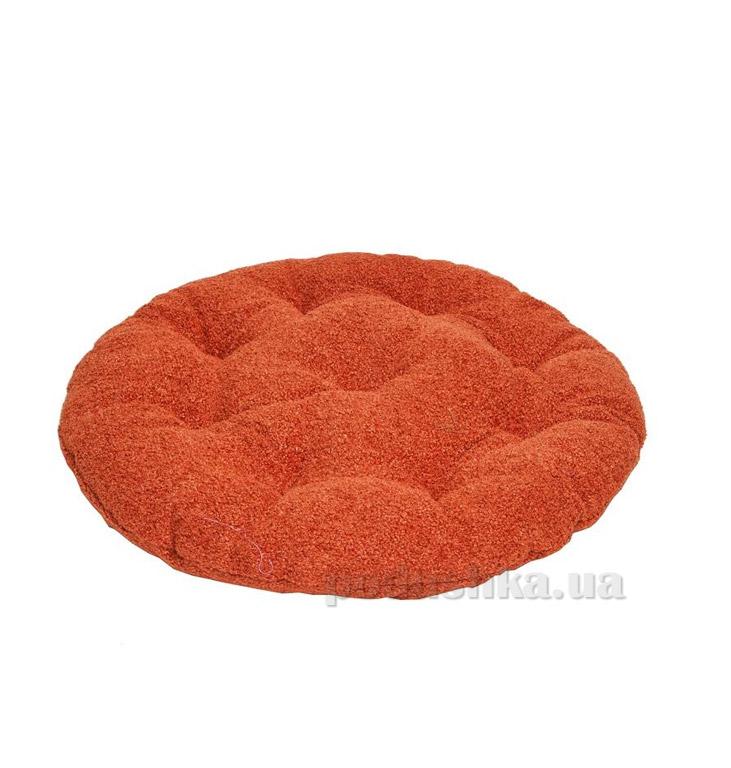Подушка для стула круглая Прованс Астра терракот