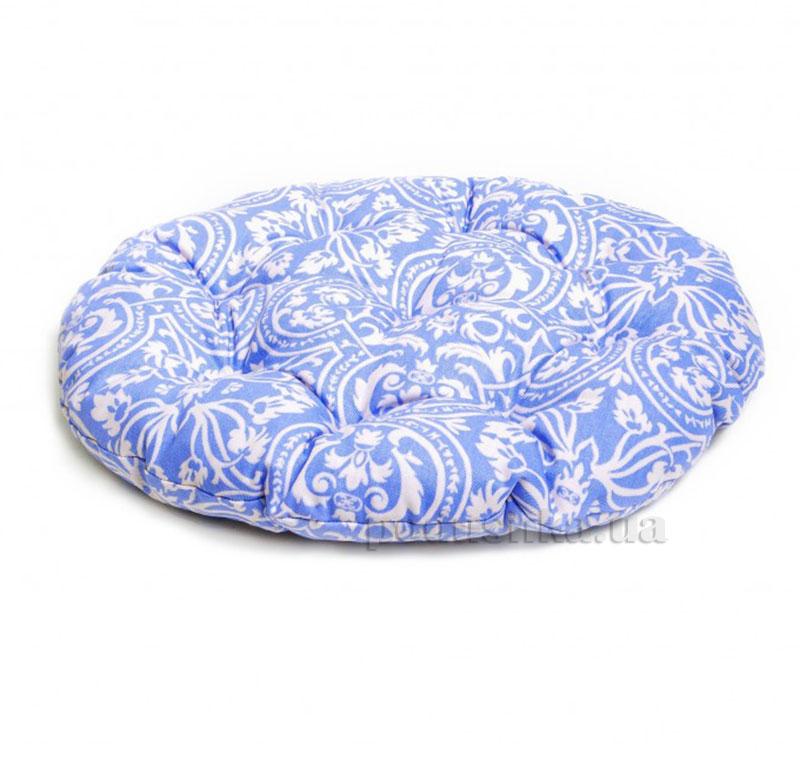 Подушка для стула круглая Прованс Классик Фреска Лаванда
