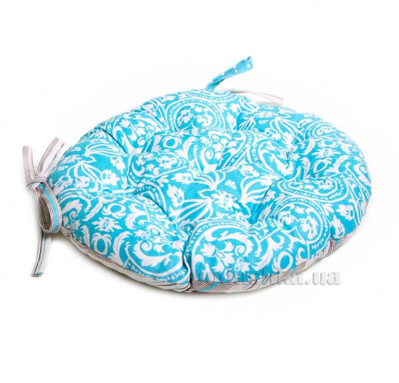 Подушка для стула круглая Прованс Классик Фреска Тифани