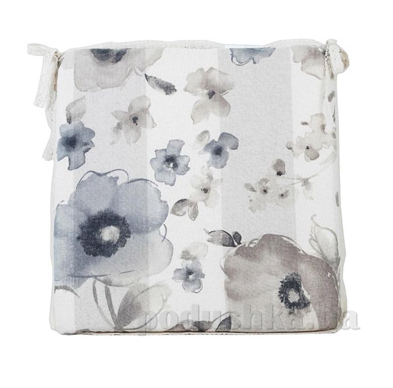 Подушка для стула с мережкой Прованс flowers 50421