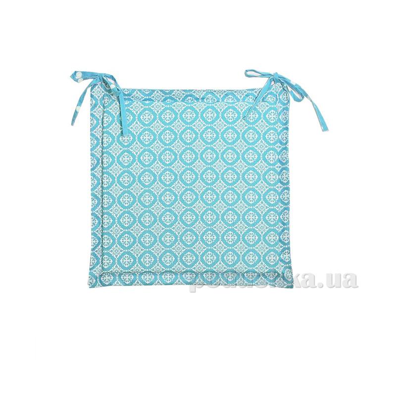 Подушка для стула с ушками Прованс Классик Ажур Тиффани 34087