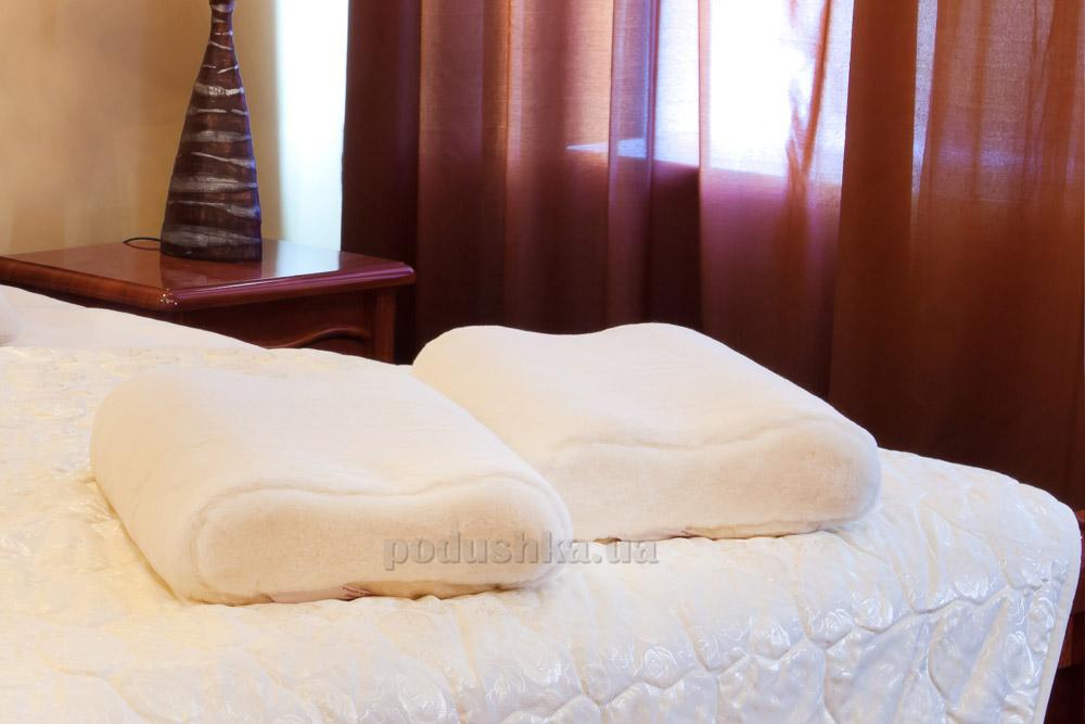 Подушка ортопедическая Relax Merino Lux Prestige  размер 40х60 см Lux Prestige