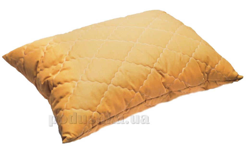 Подушка с антиаллергенным наполнителем Zastelli горчичный