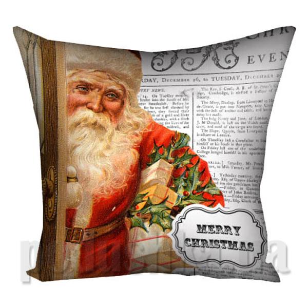 Подушка Санта-4