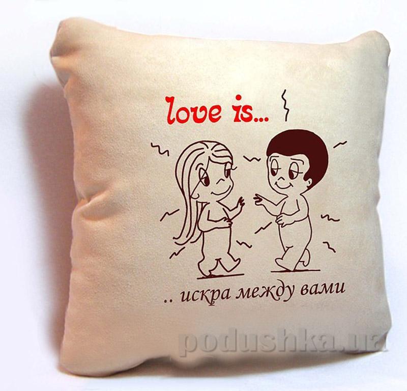 Подушка серии Love is Slivki-1