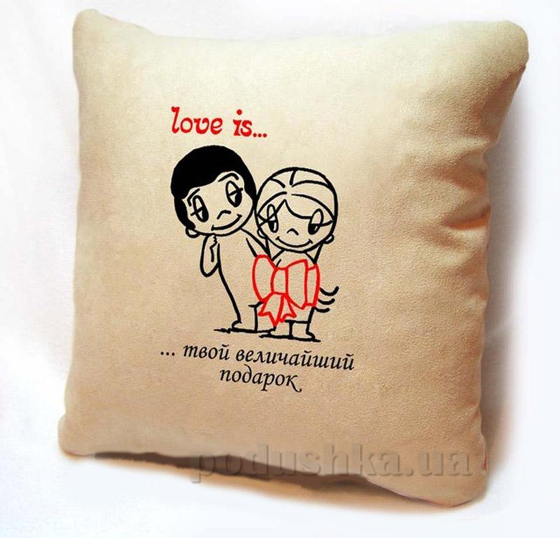Подушка серии Love is Slivki-10