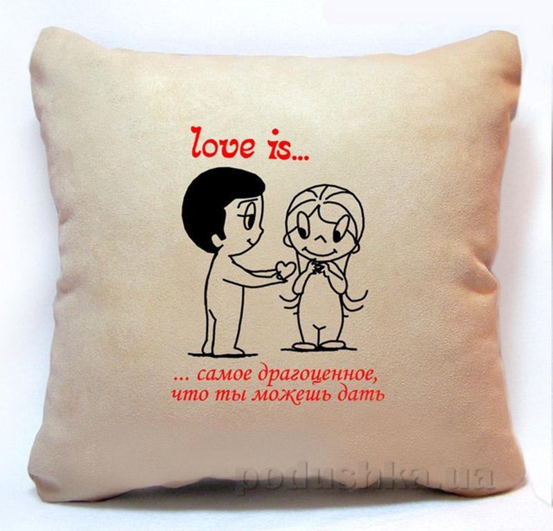 Подушка серии Love is Slivki-4
