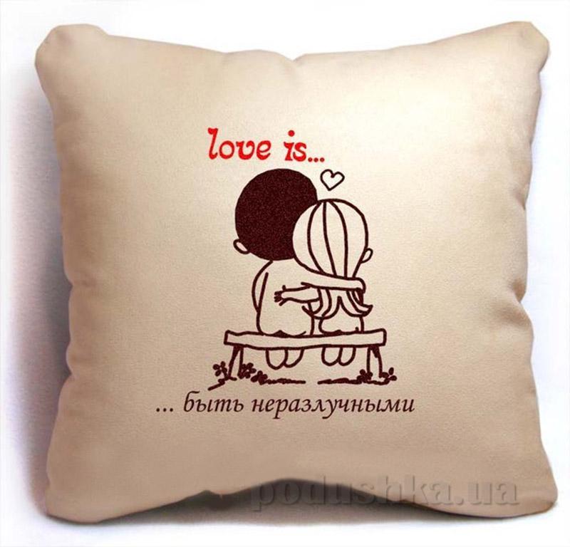 Подушка серии Love is Slivki-9