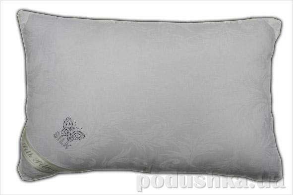 Подушка шелковая Goldentex 345-1 белая 50х70 см  GoldenTex