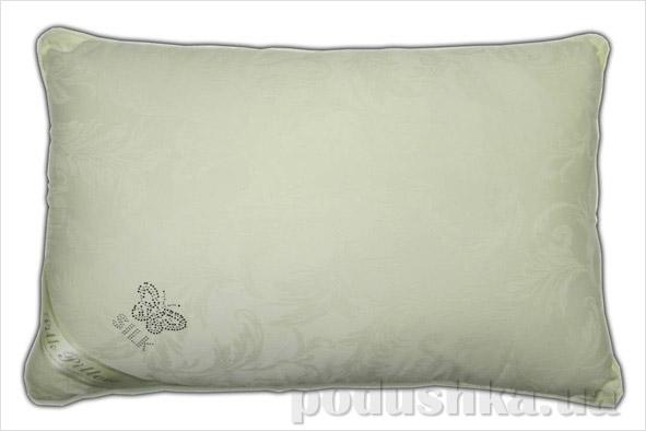 Подушка шелковая Goldentex 345-2 молочная