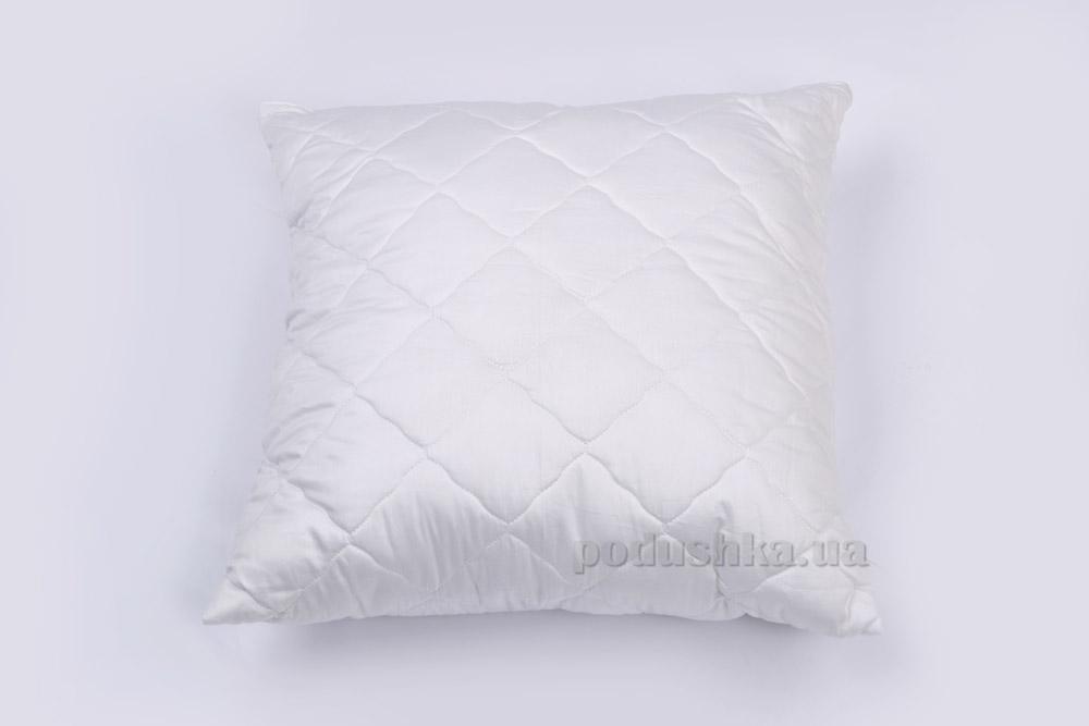 Подушка стеганая антиаллергенная ТМ Міцний сон ССАТ белая