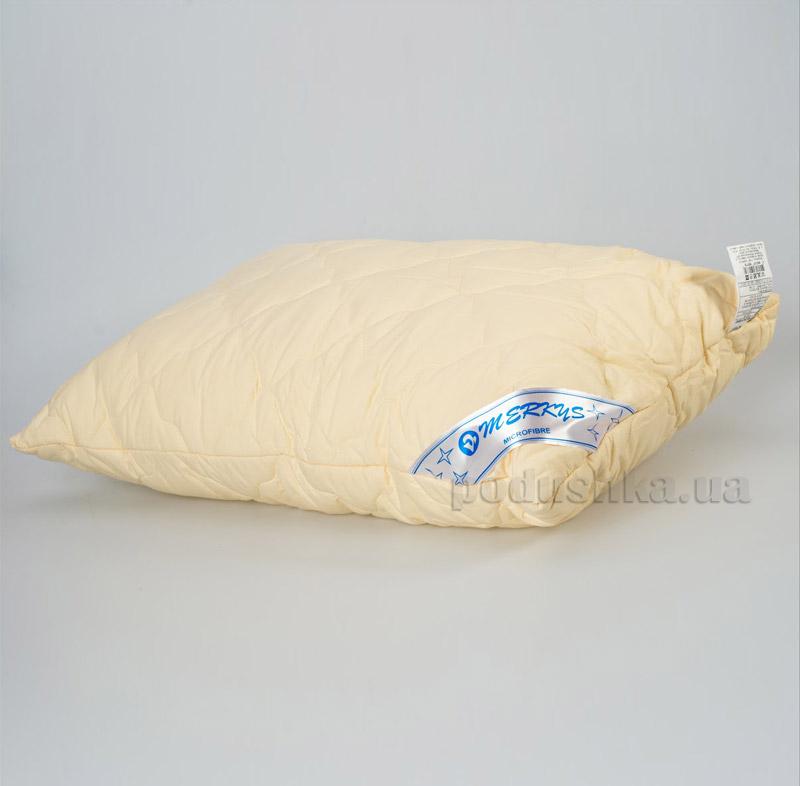 Подушка стеганая Мяркис бежевая
