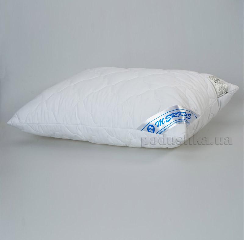 Подушка стеганая Мяркис белая