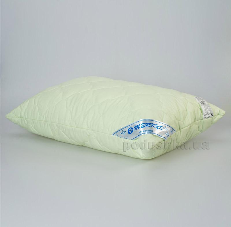 Подушка стеганая Мяркис зеленая