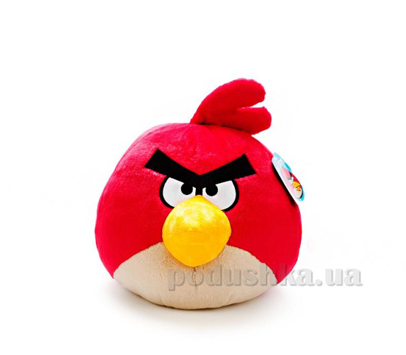 Подушка-игрушка антистрессовая Красная птица