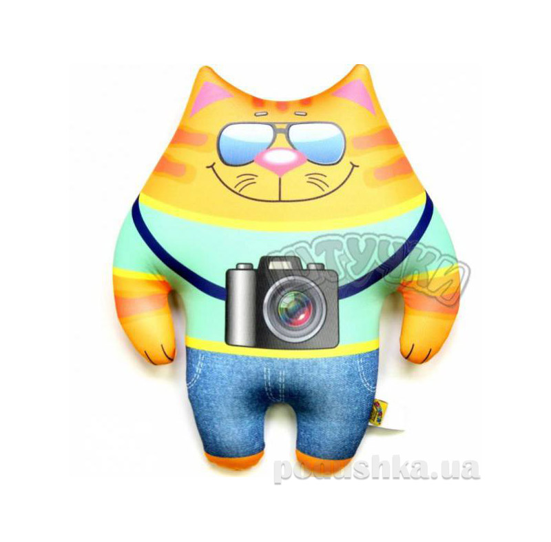 Подушка-игрушка Коты Профи Штучки кот фотограф