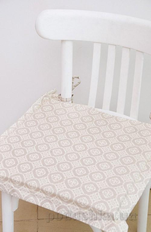 Подушка-сидушка для стула Прованс Классик Ажур 40х40 см  Прованс