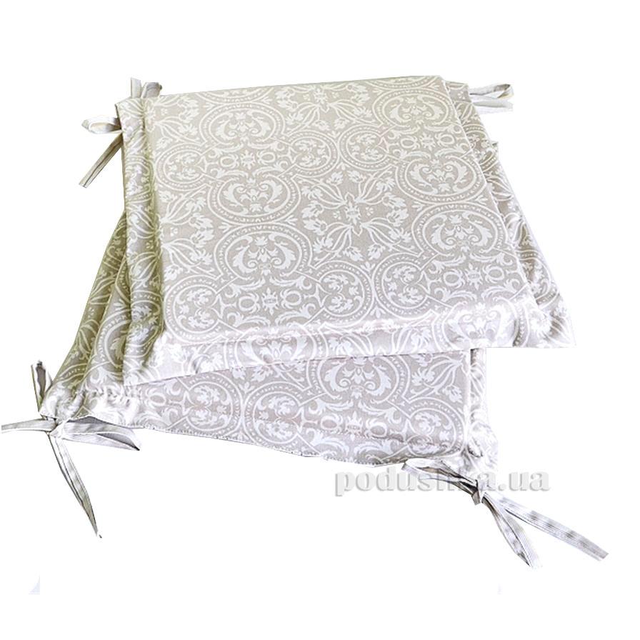 Подушка-сидушка для стула Прованс Классик Фреска