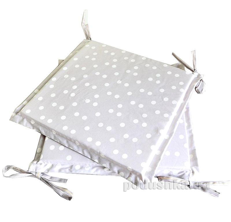 Подушка-сидушка для стула Прованс Классик Горох