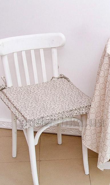 Подушка-сидушка для стула Прованс Классик Цветы