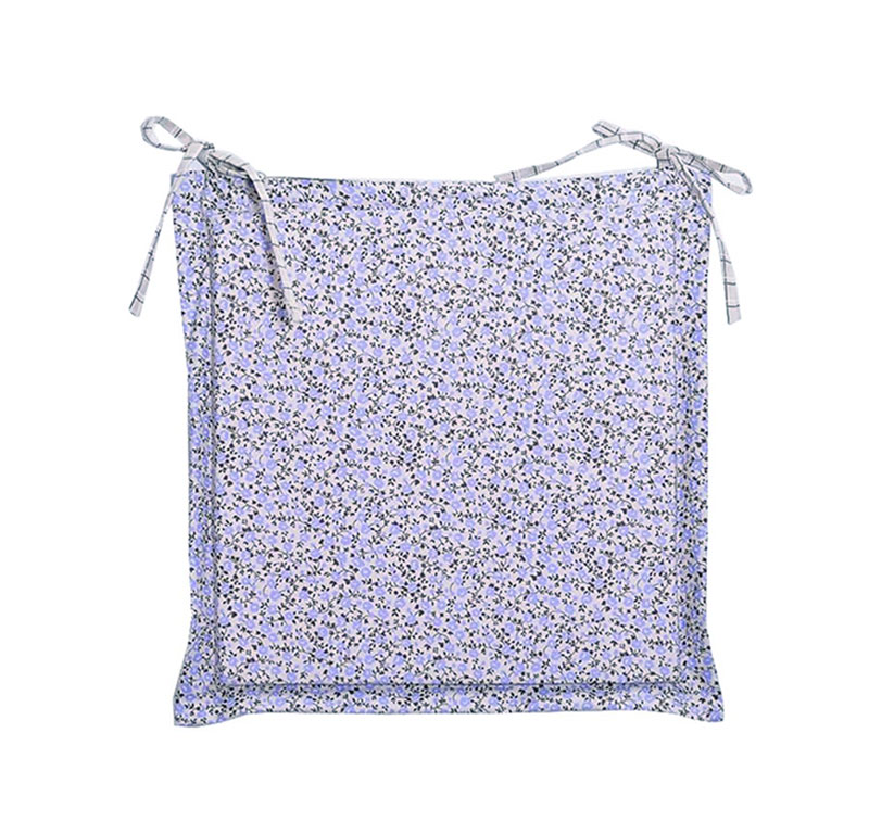 Подушка-сидушка для стула Прованс Классик Цветы лаванда