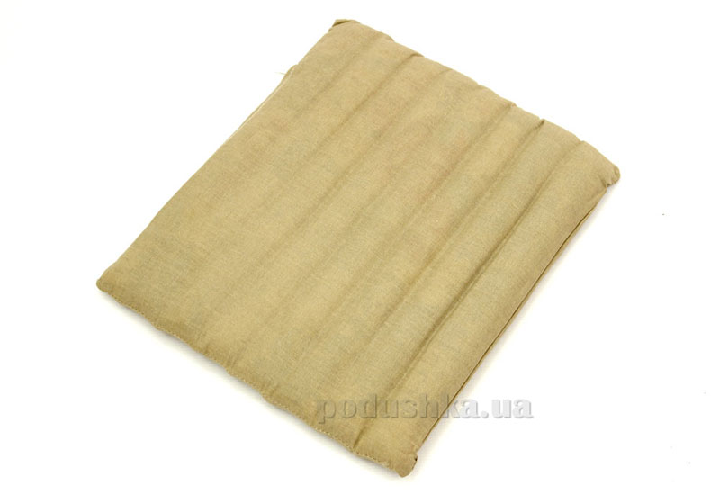 Подушка-сидушка гречневая шелуха тик+наволочка Homefort