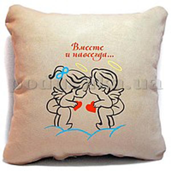 Подушка-Валентинка Вместе и навсегда