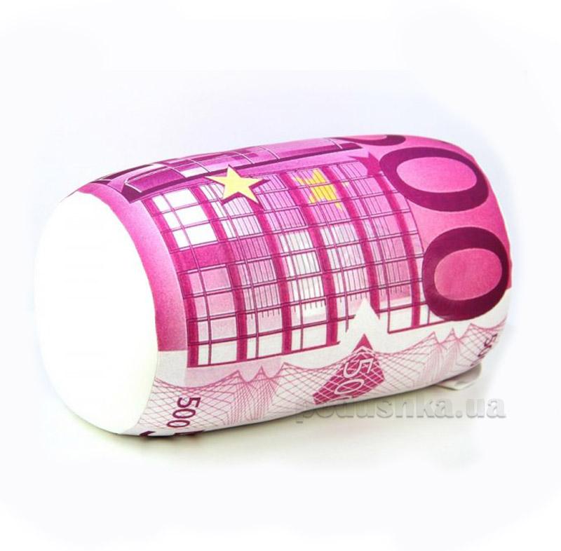 Подушка-валик Штучки 500 евро