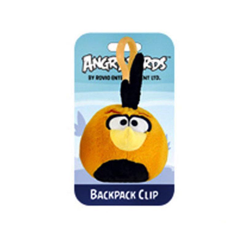 Подвеска на рюкзак Angry Birds птичка оранжевая 93297