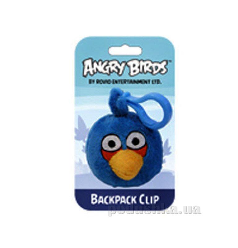 Подвеска на рюкзак Angry Birds птичка синяя 90890