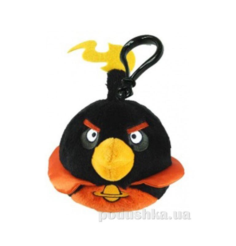 Подвеска на рюкзак Angry Birds space птичка черная 92737