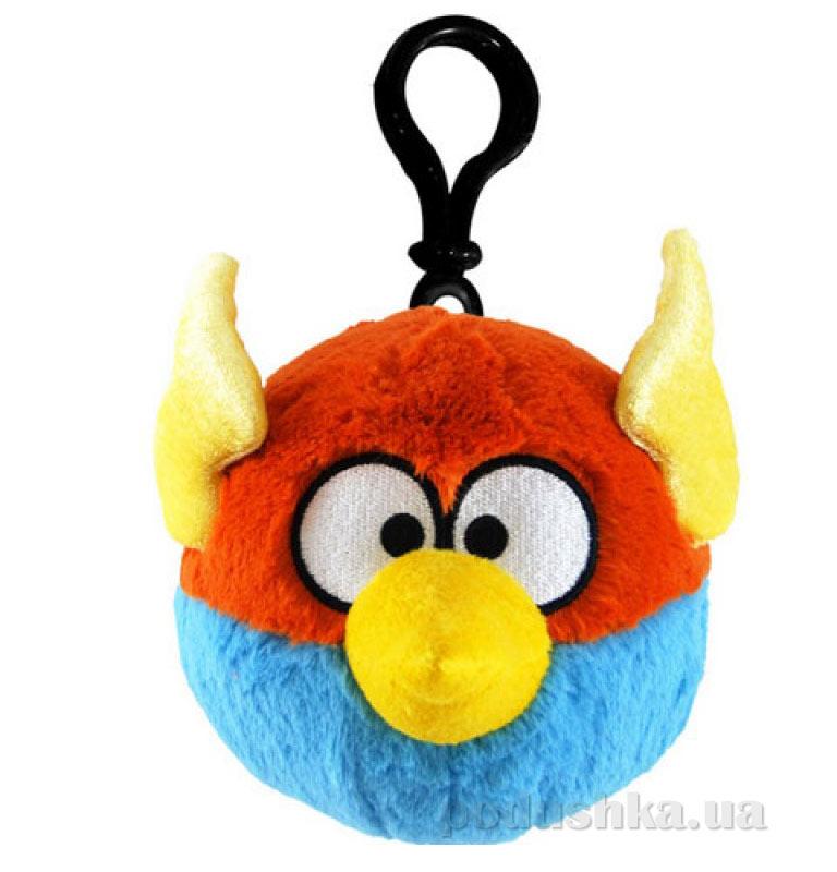 Подвеска на рюкзак Angry Birds space птичка синяя 92739