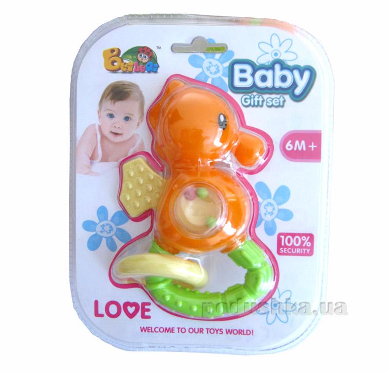 Погремушка Baby Морской конек 9104