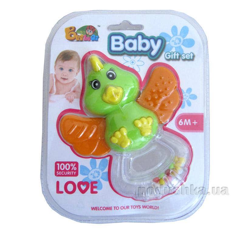 Погремушка Baby Птичка 9112