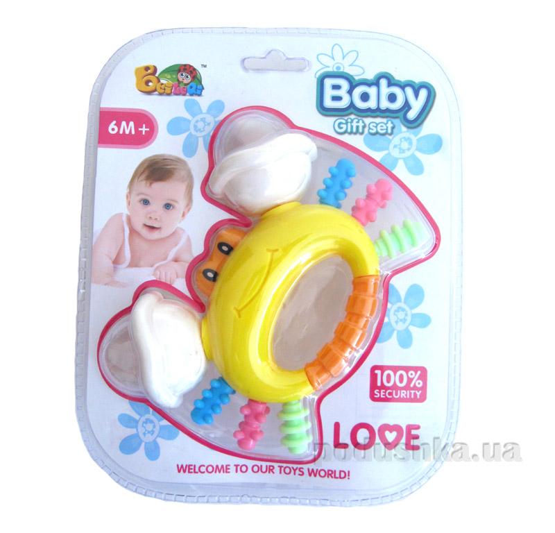 Погремушка Baby Веселый крабик 9102