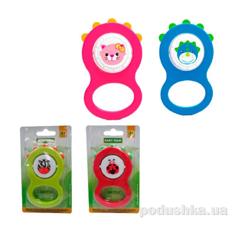 Погремушка для малыша Baby Team 8400