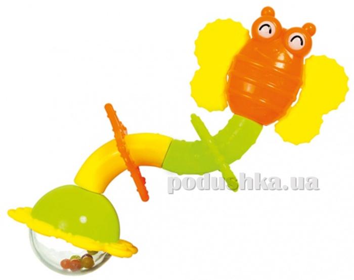 Погремушка-прорезыватель Бабочка-Твист BeBeLino 58064