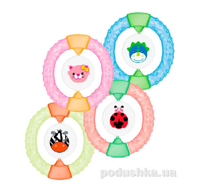Погремушка-прорезыватель для малыша Baby Team 8401