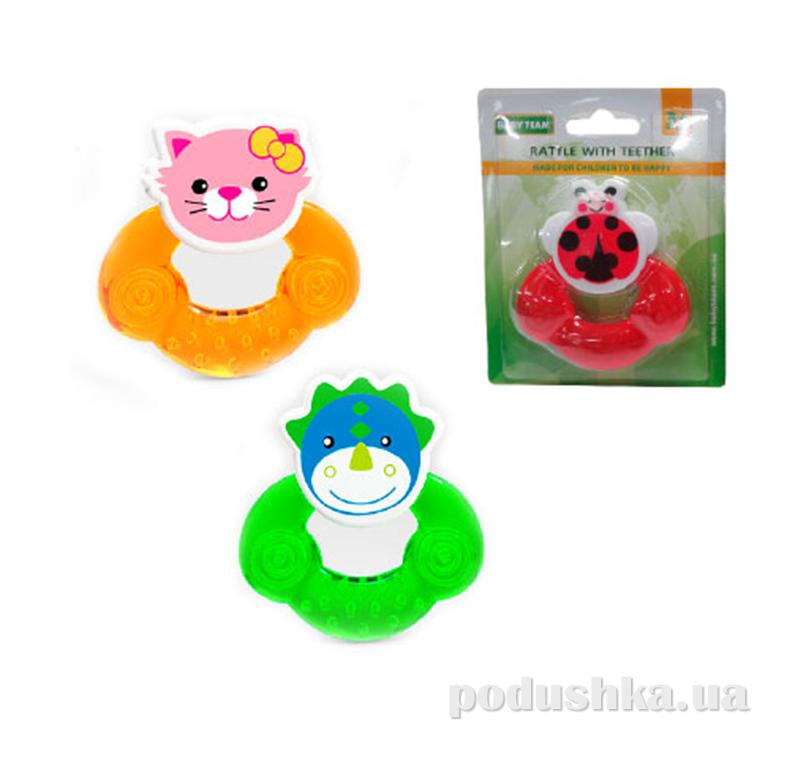 Погремушка-прорезыватель для малыша Baby Team 8402